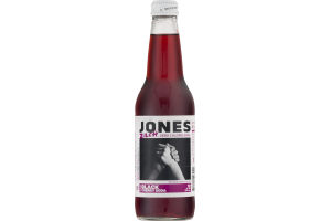 Jones Zilch Zero Calorie Black Cherry Soda
