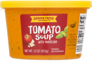 Garden Fresh Gourmet Soup Tomato with Parmesan