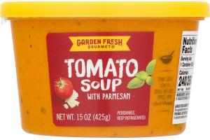 garden fresh gourmet soup tomato with parmesan - Garden Fresh Gourmet