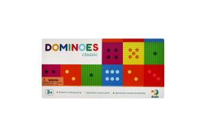 Гра для дітей від 3років №300225 Класичне Доміно Dodo 29шт