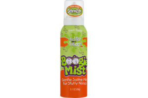 Boogie Mist Schnozzle Gentle Saline Mist For Stuffy Noses