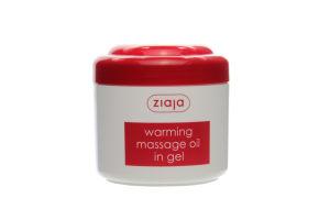 Масло гелевое массажное согревающее Ziaja 180мл