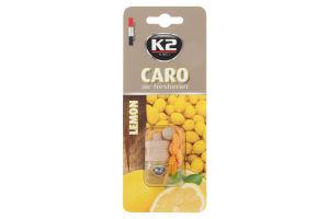 Ароматизатор K2 аромат лимона стеклянная бутылка