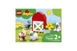 Конструктор для детей от 2лет №10949 Farm Animal Care Duplo Lego 1шт
