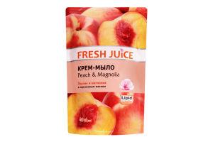 Крем-мило Peach&Magnolia Fresh Juice 460мл