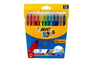 Фломастеры Kids Bic 12шт