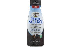 Organic Valley Organic Balance Milk Protein Shake Dark Chocolate
