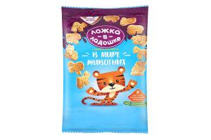 Печенье растворимое для детей от 3лет Знайка-зазнайка В мире животных Ложка в ладошке м/у 150г
