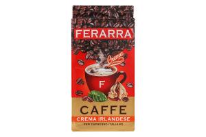 Кава натуральна смажена мелена Crema Irlandese Ferarra в/у 250г