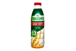Йогурт 1.5% Отруби-злаки Лактонія п/бут 870г