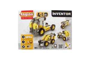 Конструктор серії Inventor 4в1 Будівельна техніка Engino
