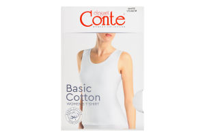 Майка жіноча Conte elegant Basic Collection №LM2020 170-92/M white