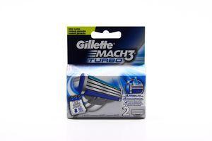 Картридж сменный для станка мужской Turbo Mach 3 Gillette 2шт
