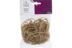 Smart Living Rubber Bands Assorted Sizes
