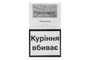 Сигареты с фильтром Platinum Parliament 20шт