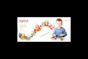 Игрушка Cubika Рыбки-силянки деревянная