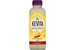 KeVita Sparkling Probiotic Drink Lemon Cayenne