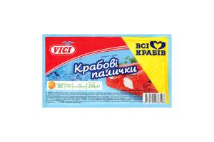 Крабовые палочки замороженные Vici в/у 240г