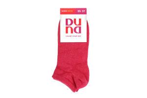 Носки женские Duna №12B307 35-37 малиновые
