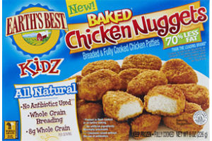 Earth's Best Kidz Baked Chicken Nuggets