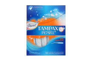 Тампони Tampax Pearl Discreet super plus 18шт. х6