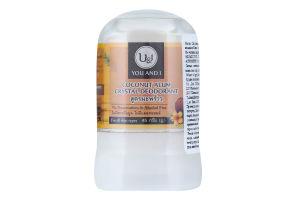 Дезодорант-стик U&I Кокос калиевые квасцы