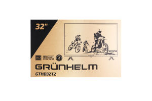 Телевізор №GTHD32T2 Grunhelm 1шт