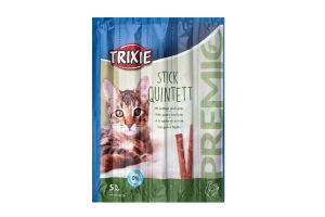 """Ласощі для котів Палички """"PREMIO Quadro-Sticks"""" 4шт.х 5г,42724,Trixie"""