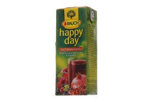 Сок Happy Day мультивитамин красные фрукты