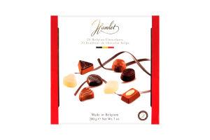 Конфеты Hamlet ассорти шоколадные белые