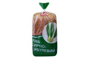 Хлеб сырно-луковый нарезной Поліссяхліб м/у 400г