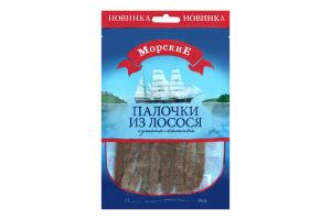 Палички з лосося сушено-солоні Морські м/у 36г