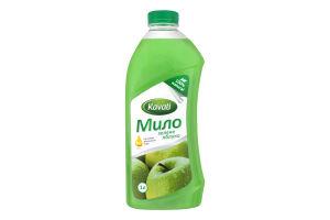 Мыло жидкое натуральное Зеленое яблоко Kavatі 1л