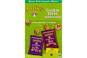 Annie's Homegrown Cookie Bites Variety Pack - 10 CT