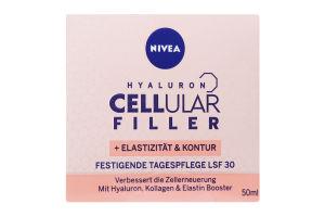 Крем дневной SPF30 Hyaluron Cellular Filler Nivea 50мл