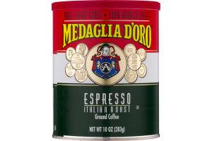 Medaglia D'oro Espresso Italian Roast Ground Coffee