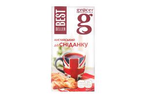 Чай черный English Breakfast Bestseller Gr@ce к/у 25х2г
