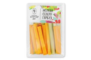 Салат овощной морковь сельдерей тыква