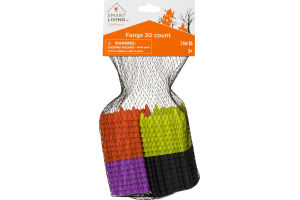 Smart Living Halloween Fangs - 30 CT