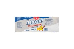 Масло солодковершкове 73% Селянське Кагма м/у 500г