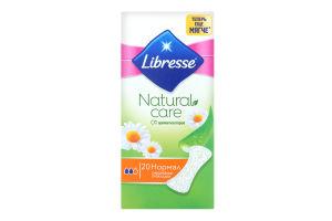 Прокладки ежедневные Нормал Natural Care Libresse 20шт