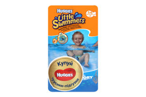 Підгузники Huggies Little Swimmers 5-6 12-18кг 11шт x8
