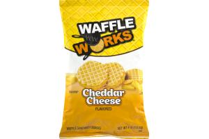 Waffle Works Cheddar Cheese Waffle Sandwich Snacks