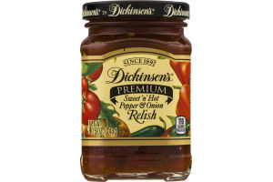 Dickinson's Premium Sweet 'n' Hot Pepper & Onion Relish