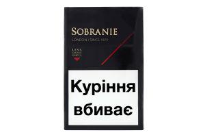 Сигареты Sobranie Blacks 20шт