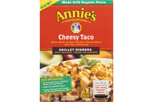 Annie's Homegrown Skillet Dinners Cheesy Taco