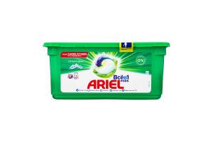 Средство моющее синтетическое жидкое в растворимых капсулах Горный источник Ariel 27х25.2г