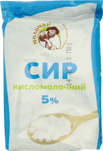 Творог 5% Молочар м/у 200г