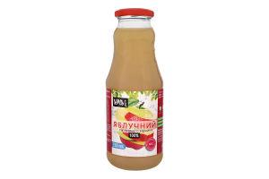Сік яблучний неосвітлений пастеризований Sims Juice с/пл 330мл