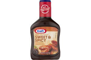 Kraft Slow-Simmered Barbecue Sauce & Dip Sweet & Spicy